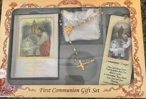 1st Communion Set- English Girl- #4005